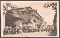 The Ice House and great Western Hotel, Bombay