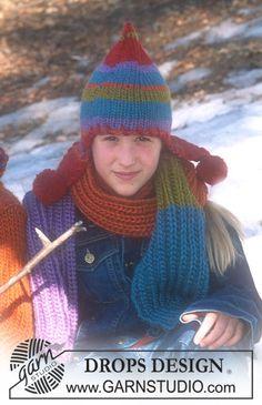Mütze und Schal in Eskimmo