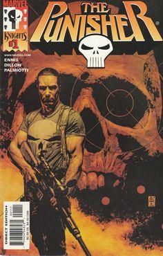 The Punisher # 1 Marvel Knights Imprint of Marvel Comics