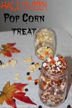 Halloween pop corn t