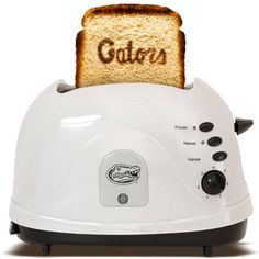 Florida Gators - brand your bread with this toaster