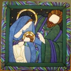 Designed by Quilt Magic, these no-sew wall hanging kits come complete with fabric and laser cut foam board or already assembled. Easy to create, a great gift idea for the crafter and non-crafter alike. Christmas Sewing, Christmas Nativity, Felt Christmas, Christmas Projects, Winter Christmas, Holiday Crafts, Vintage Christmas, Small Quilts, Mini Quilts