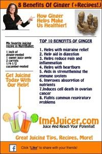 The Benefits of Juicing With Ginger from Zisa