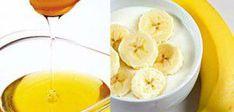 Go, go, go la banane! Easy Homemade Face Masks, Homemade Face Pack, Homemade Facial Mask, Homemade Facials, Homemade Recipe, Banana Mask, Banana Uses, Honey Face Mask, Hair Essentials