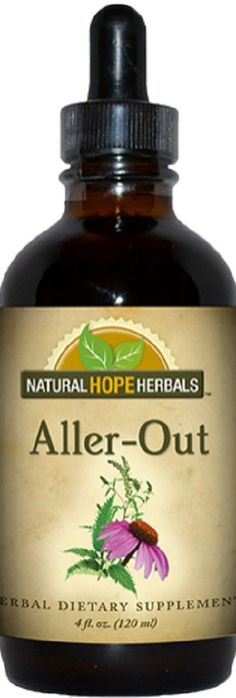 "ALLERGY HERBAL TINCTURE """"Aller-Out"""" Traditional Blend"