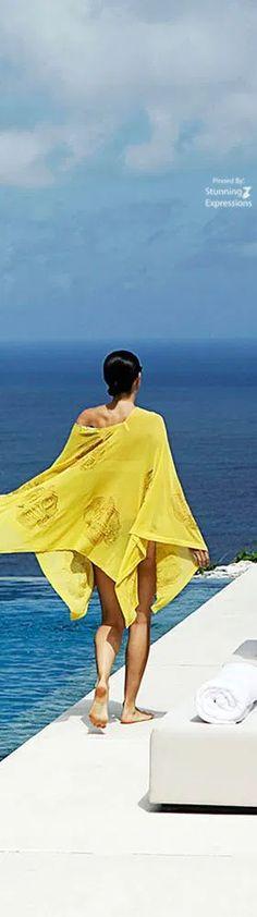 Alila Villas Uluwatu Bali – Indonesia Alila Villas Uluwatu, Miss And Ms, Beach Shade, Island Resort, Sophisticated Style, The Hamptons, Travel Photography, Cover Up, Beautiful