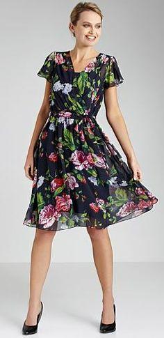 Floaty Floral Dress