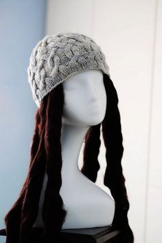4157490cd53 Cable Knit Hat Pattern    Cabled Hat Pattern    Cable Hat