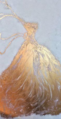 """""""Golden Gown""""   Art. Passion. ZsaZsa Bellagio"""