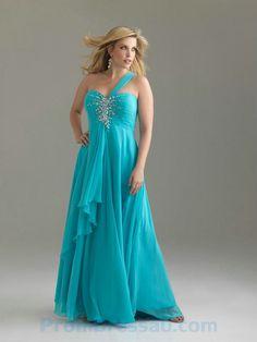 plus size designer dresses   ... Beaded Chiffon Fuchsia Nice Designer Prom Dresses for Plus Size Women