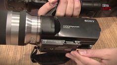 Sony NEX VG10 at IBC 2010