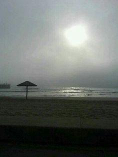 Misty morning sunrise ...