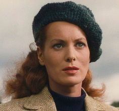This is a scene capture (freeze frame) from the newly mastered Quiet Man film. It is also now in BluRay. Note the tiny drops of water from the Irish mist on her face. Incredible restoration and incredible cinematography by Winton Hoch. This is an expression that no artist has ever captured or can capture, try as they may. Sometimes it's best to bow to the magic of film out of respect to the perfection of the image on film and unsurpassed cinematography of Winton Hoch.