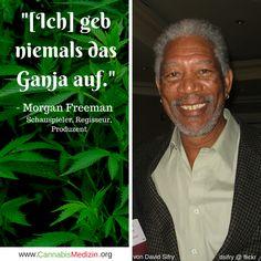 Morgan Freeman, ein Freund des Ganjas! Cannabis Weed Hanf Hemp Medizin