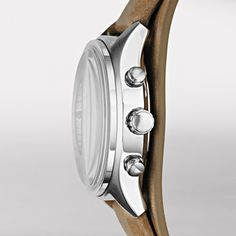 FOSSIL® Watch Collections Flight Watches:Women Flight Leather Watch - Tan CH2795