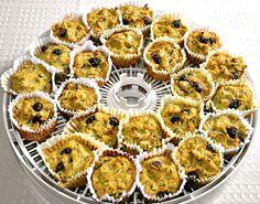 Lemon blueberry zucchini muffins. * low carb sugar free *