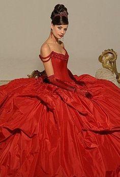 Farb-und Stilberatung mit www.farben-reich.com - wedding red gown