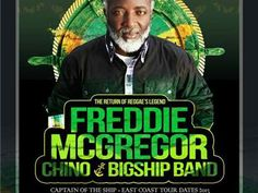 Reggae Superstar Freddie ,Chino McGregor and Sizzla Kalonji 07/22 by Caribbean Radio Show CrsRadio | Music Podcasts