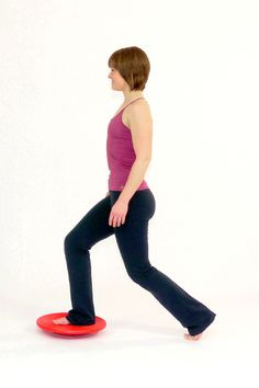 Exercise: Lunges with the Balance Board