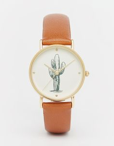 ASOS+Cactus+Dial+Watch