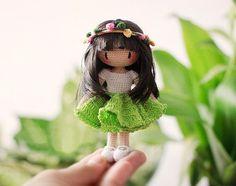 Amigurumi: Muñeca fairyfinfin. régimen libre para los juguetes de tejer. patrón de amigurumi GRATIS. # # Amigurumi #amigurumi esquema #pattern # tejer #crochet