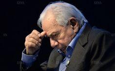 """En 2013, Michel Galabru dans la pièce """"Jules et Marcel"""". Photo AFP"""