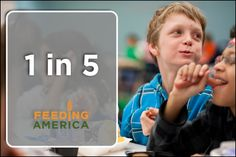 1 in 5 #children face hunger. Please repin to help spread the word!
