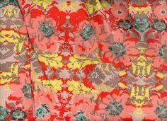 Floral Rayon Challis Pink