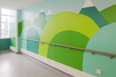Artists Liven Up A Children's Hospital With Vibrant Murals, Thus Making Our Day - Seattle Foot and Ankle Center - Beyond Binary Playroom Mural, Wall Murals, Classroom Walls, Classroom Decor, Kids Church Rooms, Sunday School Rooms, Preschool Rooms, School Murals, Murals For Kids