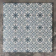 Vloertegel Berkeley Blue 45x45 cm ( 4 in 1 tegel ) vintage - Artikelcode: TOZCV432. - Nu in de aanbieding voor slechts € 29,75 p/m2 incl. BTW bij Tegels in Huis.nl