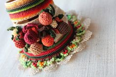 Ilex Arisanensis ... Freeform Crochet by irregularexpressions, $168.00 fab traditional mexican style folk art, gypsy, boho, lagenlook, floral decorated wrist cuff ,bangle , beautiful textile art piece try one as a statement jewellery accessory frida fave find