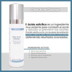 Adiós al #acne #limpiador #cleanser #glotherapeutics