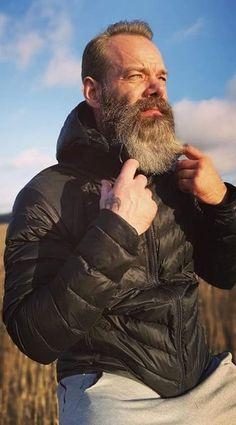 Bold Garibaldi Beard Style Look for Men to try in 2020 Grow A Thicker Beard, Thick Beard, Short Beard, Long Beard Styles, Beard Styles For Men, New Beard Look, Beard Maintenance, Full Beard, Long Beards