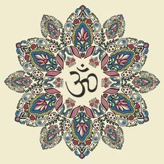 """Om is a mantra and mystical Sanskrit sound of Hindu origin. Before creation began it was """"Shunyākāsha"""", the emptiness or the void. Shunyākāsha, meaning literally """"no sky"""", is more than nothingness, because everything then existed in a latent state of potentiality. The vibration of """"OM"""" symbolises the manifestation of God in form (""""sāguna brahman""""). OM is the reflection of the absolute reality, it is said to be """"Adi Anadi"""", without beginning or the end and embracing all that exists."""