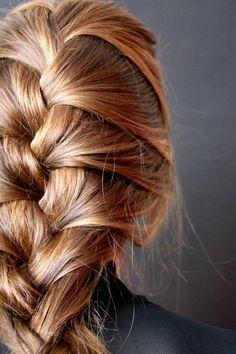 coiffure tresse relief