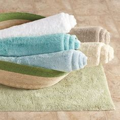 Bamboo/Cotton Bath Rug $50
