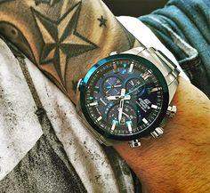 Dress to impress!  #casio #edifice #watches #tattoo