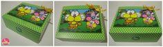 Cajita gaturro ♥ Lunch Box, Crates, Bento Box