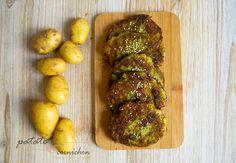 Galettes de pommes de terre et de courgettes
