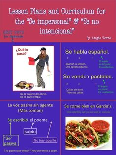 """This """"Lesson Plans and Curriculum for the Spanish #SeImpersonal & """"se no intencional"""" includes the following: The """"Uses of 'Se'"""" PowerPoint,   Se dice PPT, Bell Work PPTs, Daily Homework, Homework Answers PPTs, Seven 90-minute lesson plans on the Spanish Impersonal """"se"""" and Non-intentional """"se"""" with everything needed for each day's lesson in that day's folder, Competitions, PPT Answers to the competitions, Tests & Quizzes, Illustrated TPR story for the """"se no intentional"""", and much more!"""