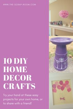 DIY Home decor tutor