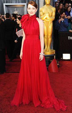 Best Dressed Academy Awards 2012