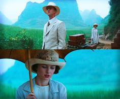 The Painted Veil Stunning cinematography. Stuart Dryburgh fully utilizes the Chinese countryside to create vibrant, painterly imagery accompanied by the evocative musical score of Alexandre Desplat (aided by pianist Lang Lang) Movies Showing, Movies And Tv Shows, The Painted Veil, Edward Norton, Film Stills, Movie Quotes, Cinematography, Actors & Actresses, Movie Tv