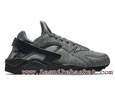 new york 6c1b1 1a5fa Nike Air Huarache Run Fleece Chaussure Nike Sportswear Pas Cher Pour Homme.  lesnike basket