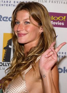 Gisele Bundchen is already a star in our eyes, and her cute little tattoo reinforces that.