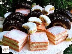 Receptek, és hasznos cikkek oldala: Flamingó szelet ,jászberényi tekercs,mázas linzer félholdak French Toast, Cheesecake, Breakfast, Desserts, Food, Morning Coffee, Tailgate Desserts, Deserts, Cheesecakes