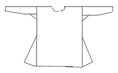 A simple pattern for an Anglo-Saxon underdress.