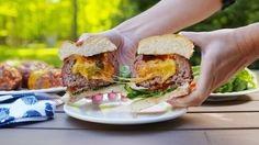 Just when you thought burgers couldn't get any better...Beer Can Burgers