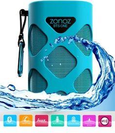 10W #Waterproof #Wireless #Portable Bluetooth Speaker Blue Portable Rechargeable