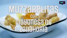Muzzarelitas con Dip de Zanahoria